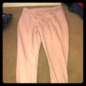 Pants - Light pink sweat pants